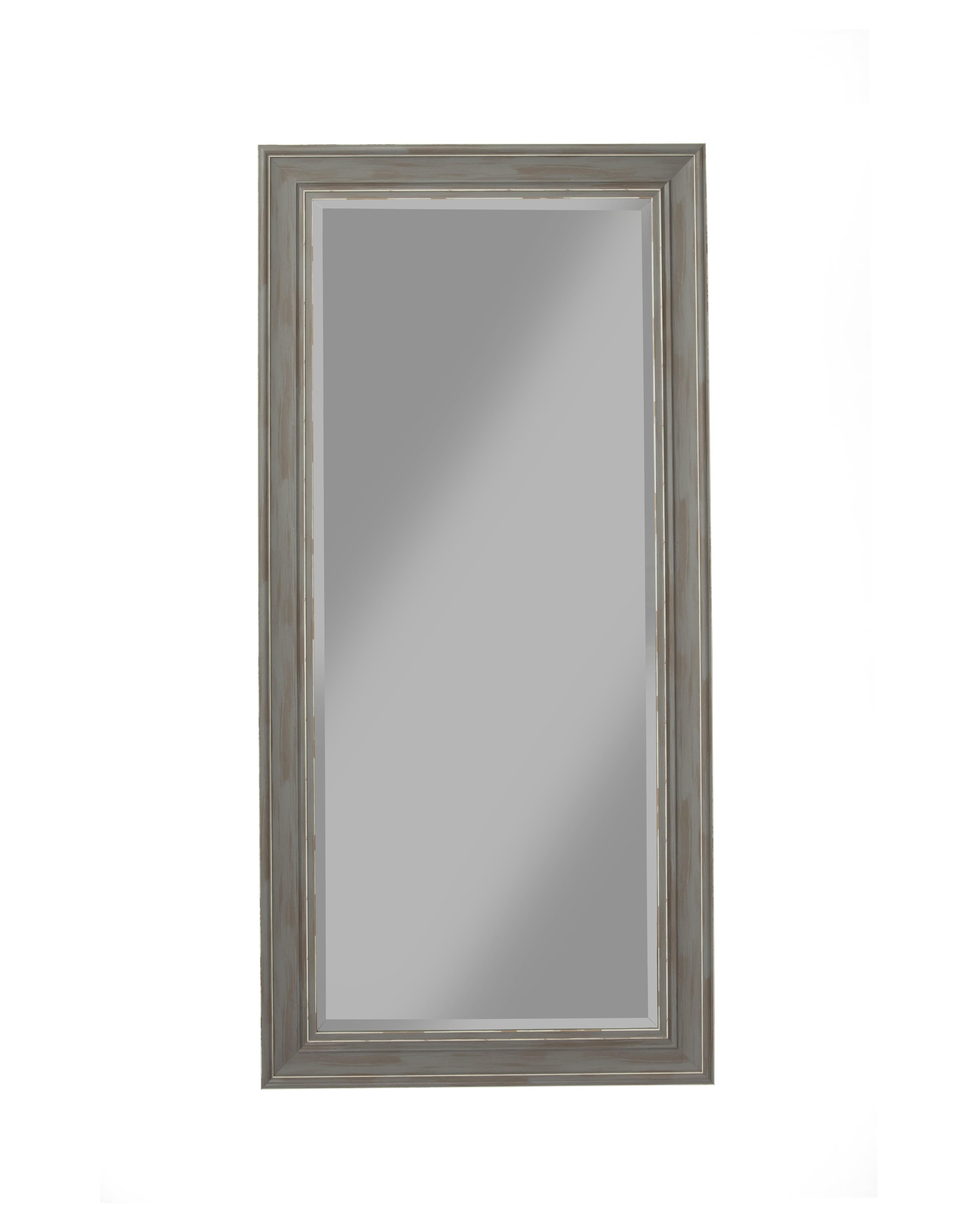 Antique Grey Farmhouse Full Length Leaner Mirror by Martin Svensson Home