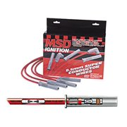 MSD 31223 Black 8.5mm Super Conductor Spark Plug Wire Set
