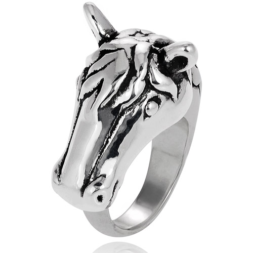 Brinley Co. Sterling Silver Horse Ring