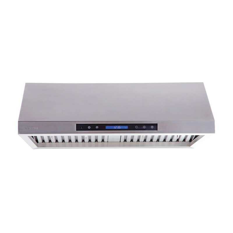 under cabinet range hood with remote control system