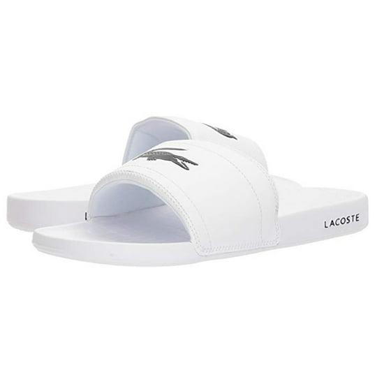 3f4e5c34d Lacoste - Lacoste Men s Fraisier 118 1 Fashion Shoes Slip On Slide Sandals  White Size 16 - Walmart.com