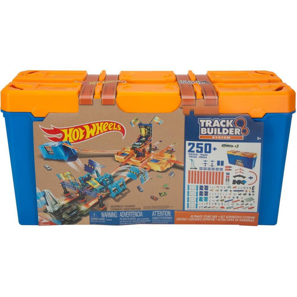 Hot Wheels Track Builder Ultimate Stunt Box by Mattel