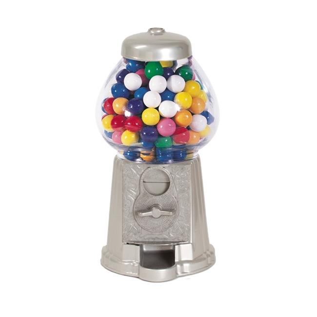 American Gumball Machine AGM9 Silver 9 in. old fashion gumball machine