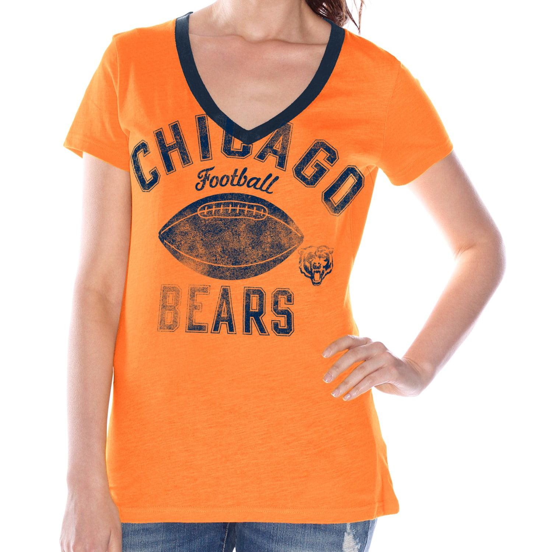 "Chicago Bears Women's G-III NFL ""Flea Flicker"" V-neck T-shirt"