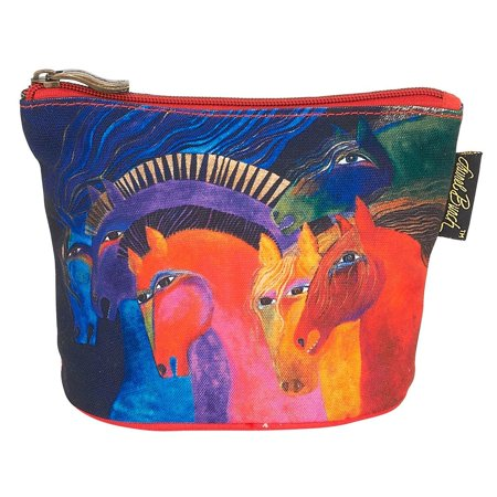 Laurel Burch Mythical Horses Cosmetic Clutch Wild Horses of