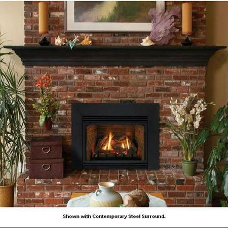 direct vent fireplace insert empire direct vent fireplace insert dv33in33ln natural gas walmartcom