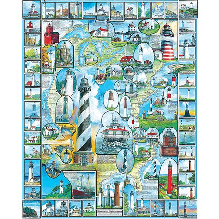 White Mountain Puzzles American Lighthouses*