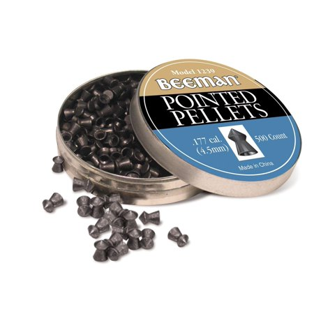 177 Caliber Pointed Pellets  Pack Of 500   Pointed Pellets By Beeman