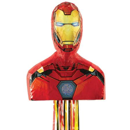 Avengers Iron Man 3D Pinata](Avengers Pinata)