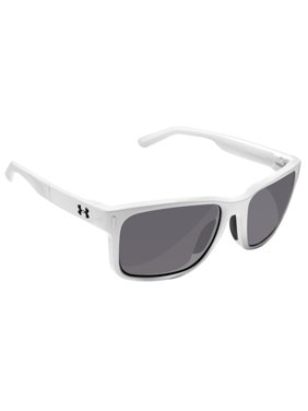 269730a934 Product Image Under Armour 8600101-101401 assist shiny white frosted clear  rubber gray lens