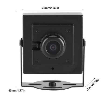 Sonew Wide Angle Camera, Home Security Camera,Mini HD 700TVL 170° Wide Angle 2.1mm Lens Security Camera Day Indoor Outdoor Home Office Use - image 2 of 8