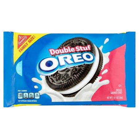 Oreo Double Stuf Cookies  Family Size  20 Oz