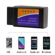 Automobile code readers obdii car diagnostic device wireless car code reader diagnostic scan device wifi scanner adapter check engine fandeluxe Image collections