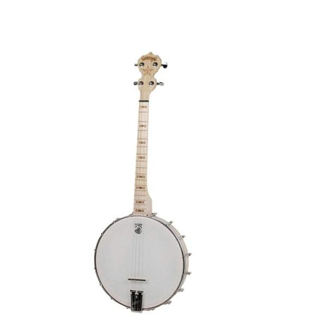 Deering Goodtime 4 String 19 fret Openback Tenor Banjo with Sealed Geared Tuners and Steel Coordinator Rod for Adjustments ()