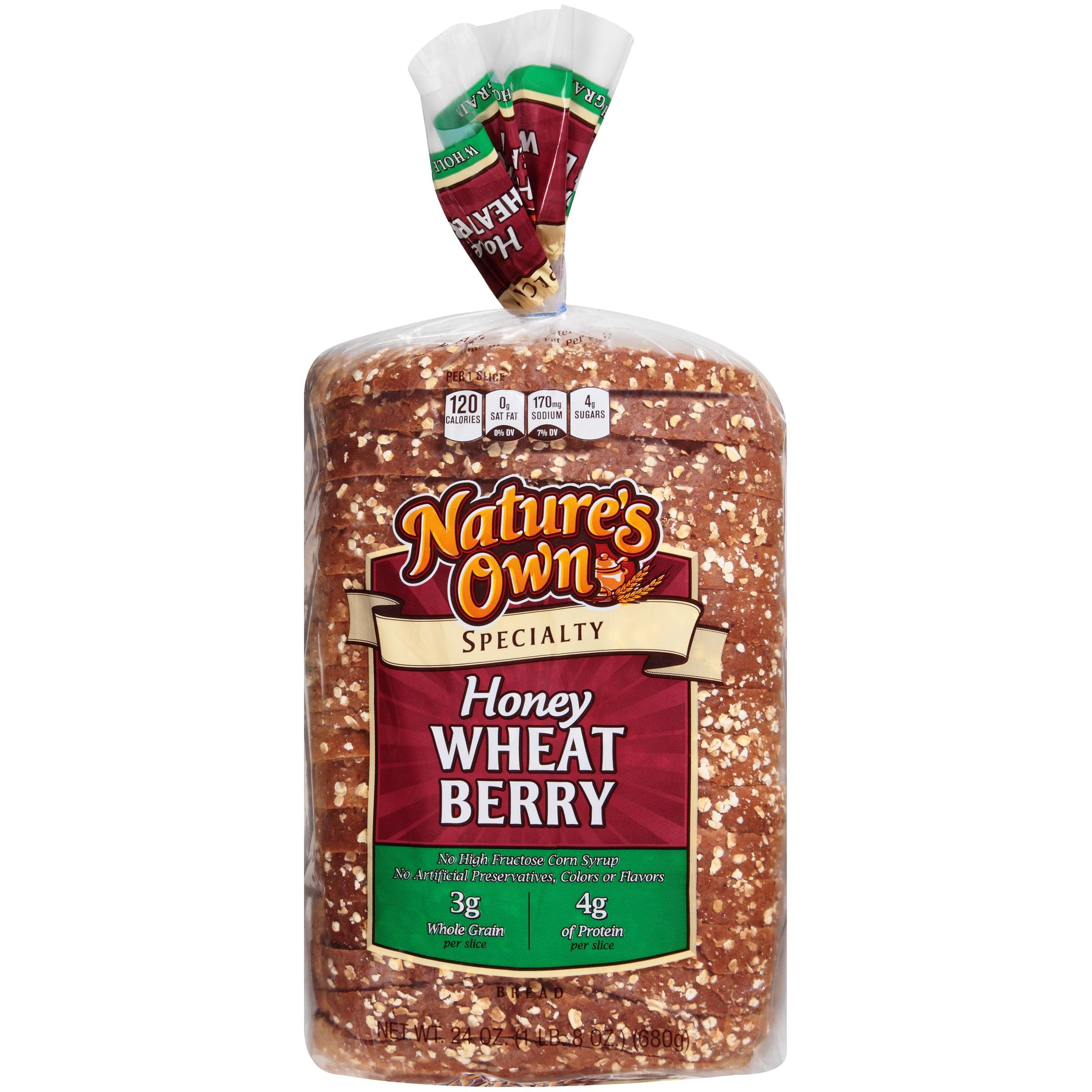 Nature S Own Specialty Honey Wheat Berry Bread 24 Oz Bag Walmart Com