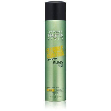 Garnier Fructis Style Flexible Control Hairspray, All Hair Types, 8.25 oz. (Packaging May