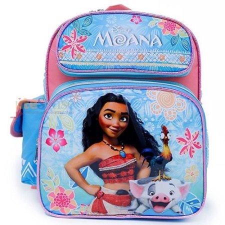 "Small Backpack Disney Moana Blue Pink 12"" 696665 by Ruz"