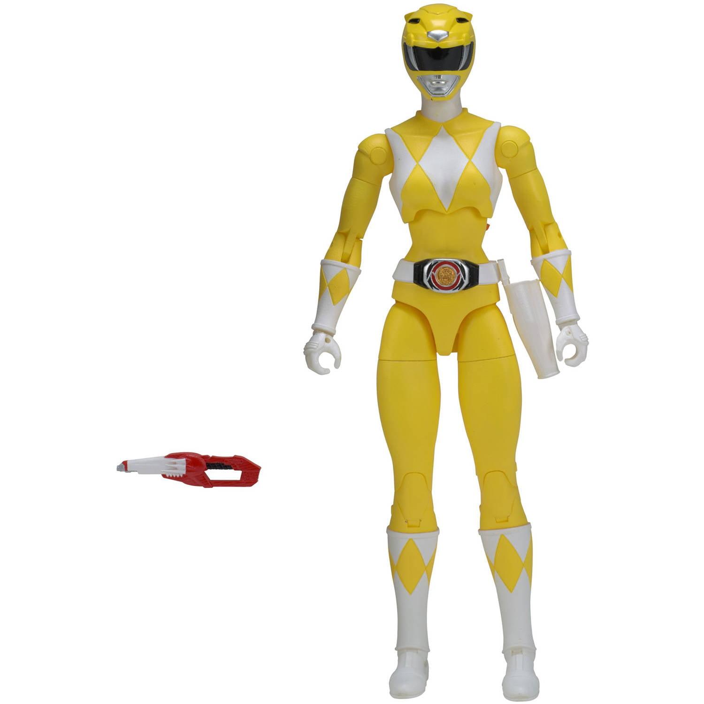 Power Rangers Legacy Mighty Morphin Yellow Ranger - Walmart.com
