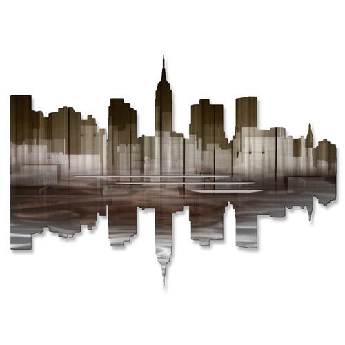 All My Walls New York City Reflection III Wall D cor