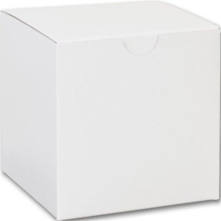 Bow Tie Gift Box (Bags & Bows by Deluxe 250-040404C-9 White One-Piece Gift Boxes - Case of 100)