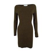 Charter Club Women's Long Sleeve Sweater Dress