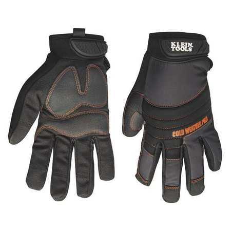 Journeyman Gloves (KLEIN TOOLS 40212 Journeyman Cold Weather Pro Gloves,L,PR)