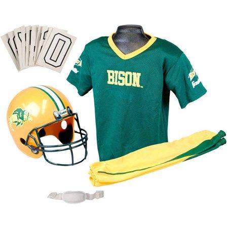 Franklin Sports NCAA North Dakota State Bison Uniform Set, Medium