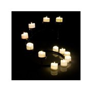 Tea Light Candles Warm White, AGPtek 6 PCS LED Flameless Battery Operated Tea