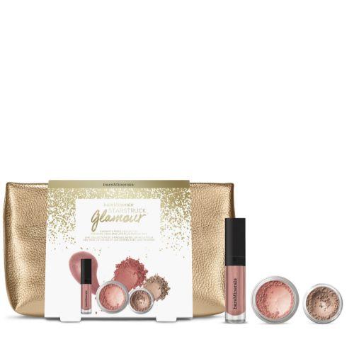 BareMinerals Star Struck Glamour, Lips, Eyes, Blush, 3 Piece Gift Set