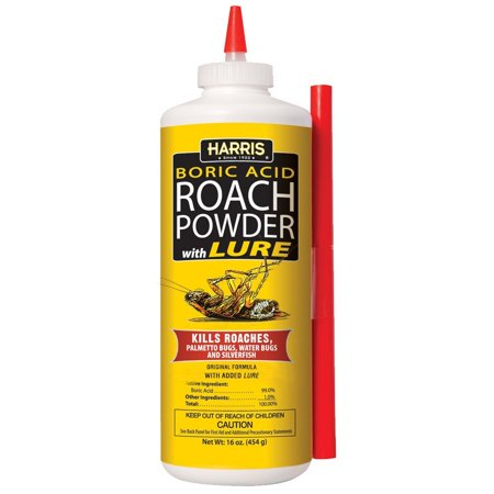 Boric Acid Roach Powder With Lure  16 Oz  16Oz  Usa  Brand Harris