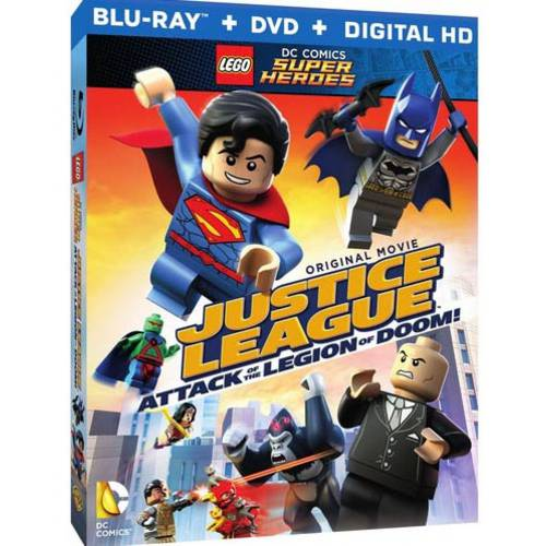 LEGO DC Super Heroes: Justice League - Attack Of The Legion Of Doom! (Blu-ray + DVD + Digital HD With UltraViolet)