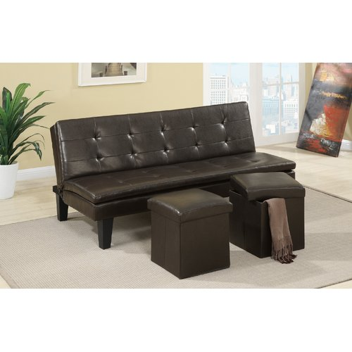 Ebern Designs Fernandes Convertible Sofa by