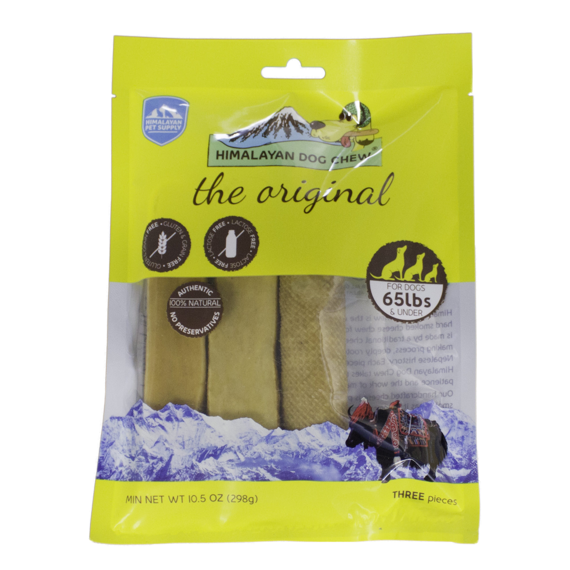 Himalayan Pet Supply; The Original Himalayan Dog Chew for Dogs Under 65 lbs