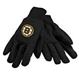 NHL Sport Utility Gloves Boston Bruins Black Team Work Utility Gloves (Boston Bruins Party Supplies)