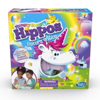 Hungry Hungry Hippos Unicorn Edition Board Game, Walmart Exclusive
