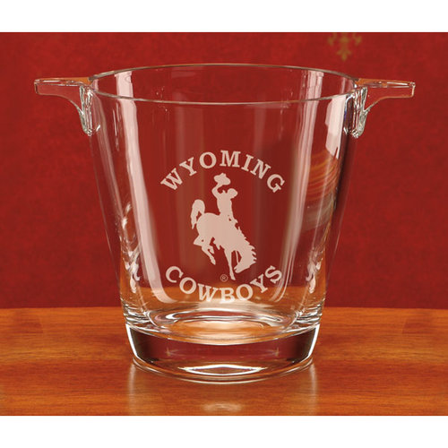 NCAA - Wyoming Cowboys Deep Etched Crystal University Ice Tub