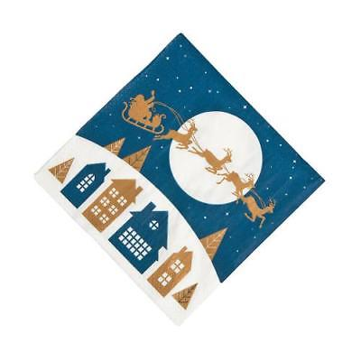 IN-13750264 Christmas Night Luncheon Napkins 2PK