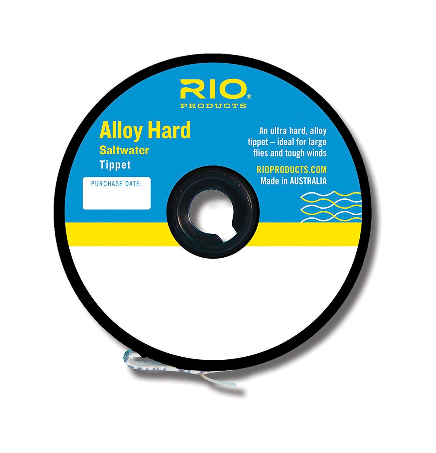 Alloy Hard Saltwater Mono Tippet 25lb 12kg, RIO ALLOY - HARD SW MONO TIPPET - 25lb - Fly Fishing By Rio Ship from US