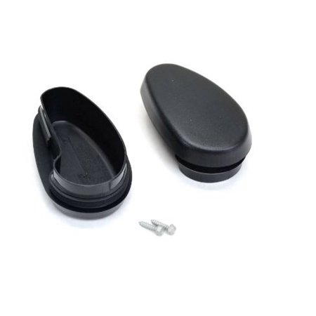 Factory New Mopar Part # 68044463-AB Ram Tubular Side Step Bar End Caps for Ram 2009-2019](Party Factory)