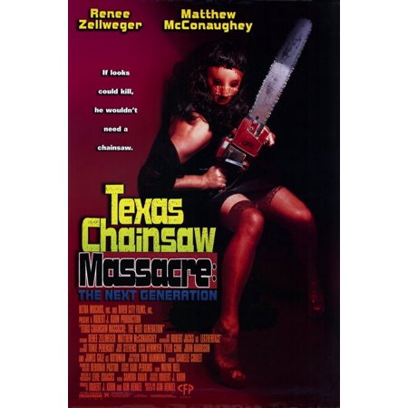 The Texas Chainsaw Massacre: The Next Generation POSTER Movie Mini Promo for $<!---->