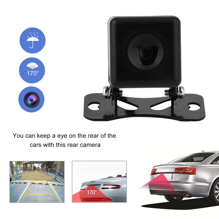 Universal 170 Degree Wide Angle Waterproof Night Vision Car Rear View Camera Reverse