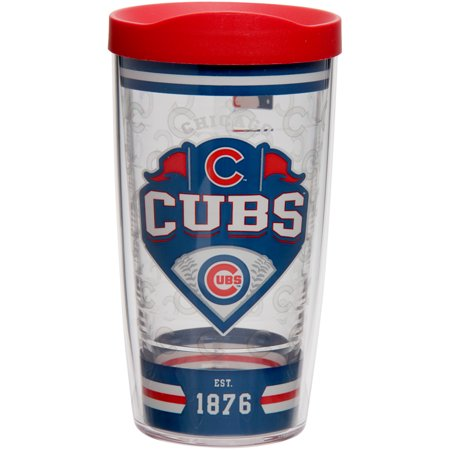 Chicago Cubs Tervis 16oz. Classic Wrap Tumbler with Lid - No Size (Tervis Wrap)