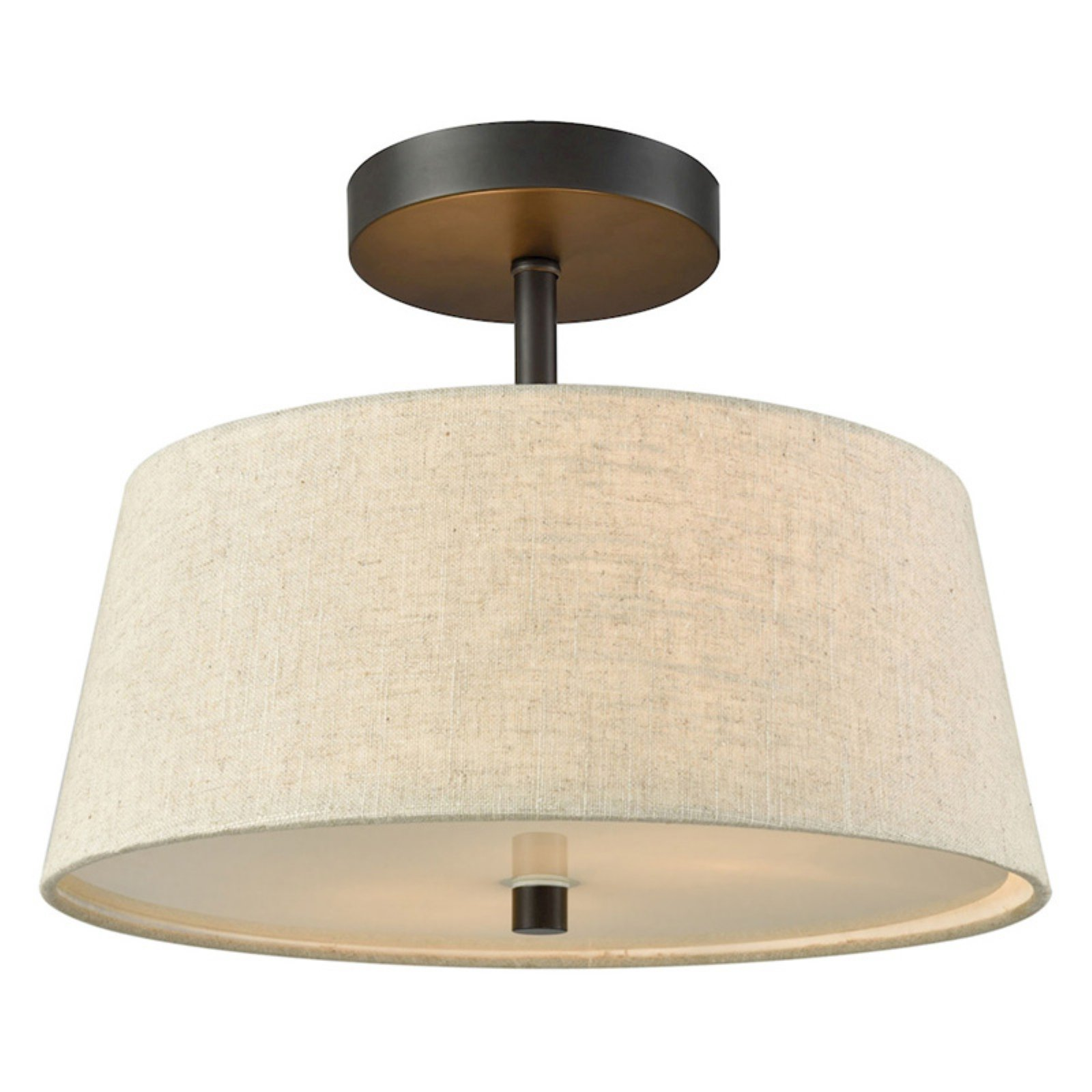 Thomas Lighting Morgan Drum Semi-Flush Mount Light by Thomas Lighting