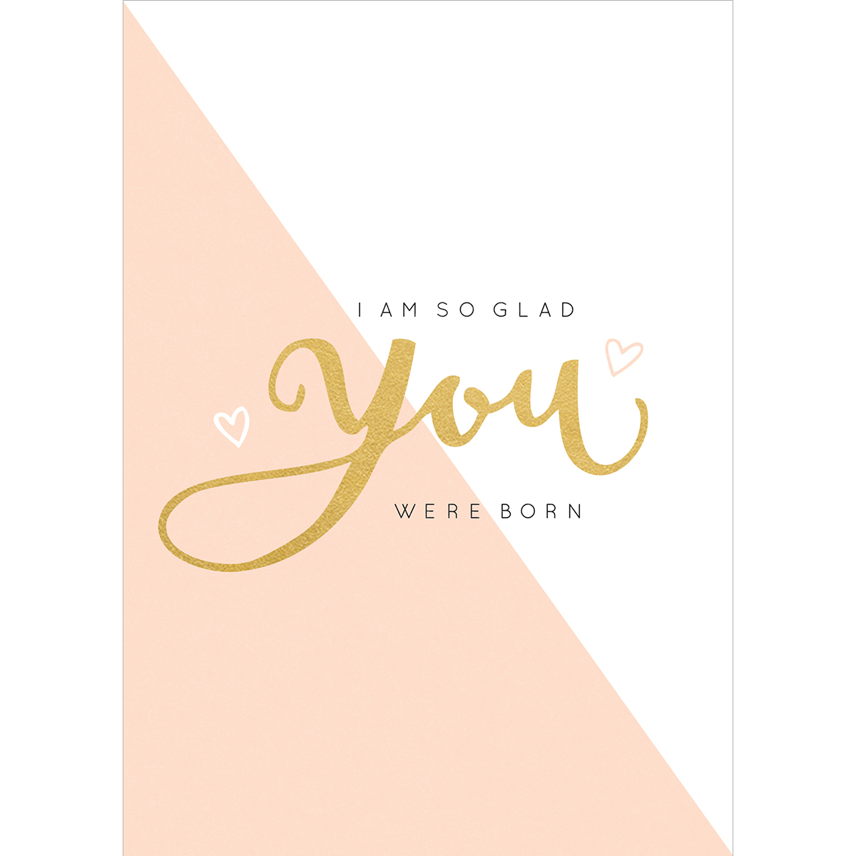 "Kaisercraft KS645 Kaisercraft Kaiser Style Greeting Card W/Envelope 5""X7"" - You Were Born"