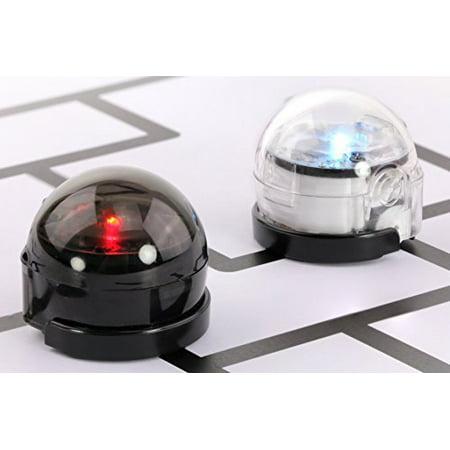 Ozobot 2.0 Bit - Educational Toy Robot, Dual Pack (White & Black)