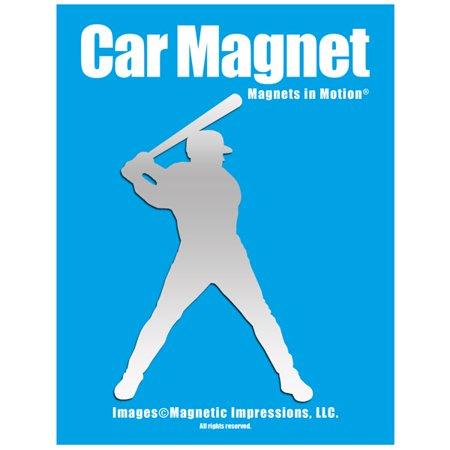 Baseball Batter Decal (Baseball Batter Car Magnet)