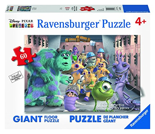 Ravensburger Disney Monsters Inc. The Whole Gang Floor Puzzle (60 Piece) by