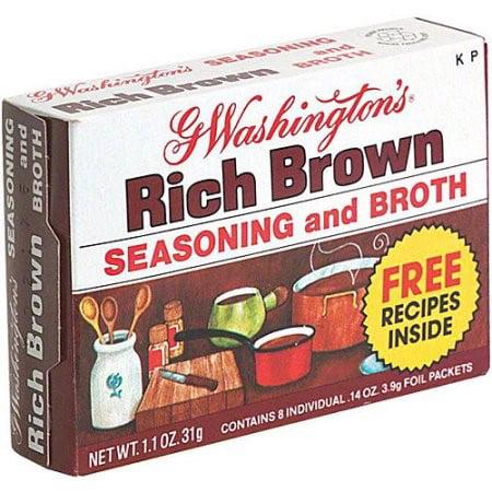 George Washington Broth, Brown, 1.1 Ounces
