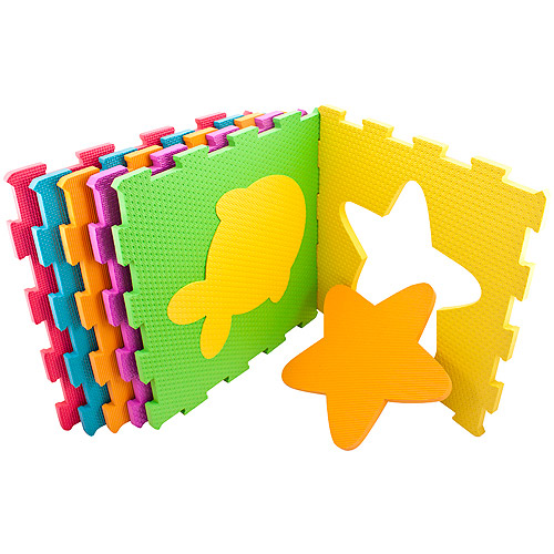 Sassy Soft-Cushion Play Space Interlocking Mat