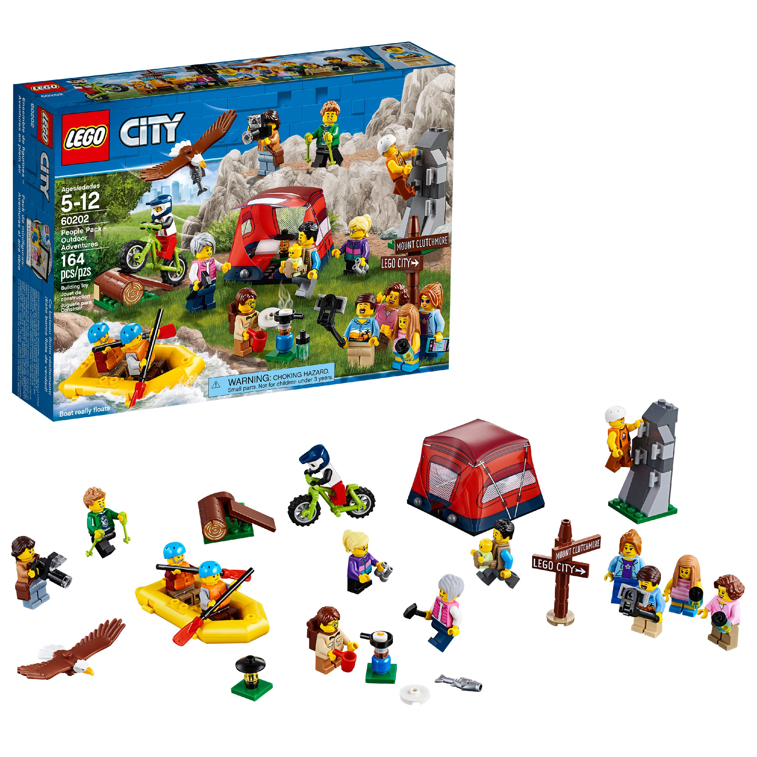 LEGO City Town People Pack - Outdoor Adventures 60202